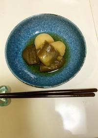 水ナスとじゃが芋の煮物(炊飯器調理)