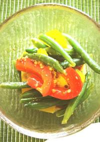 夏野菜のマリネ(透析食)