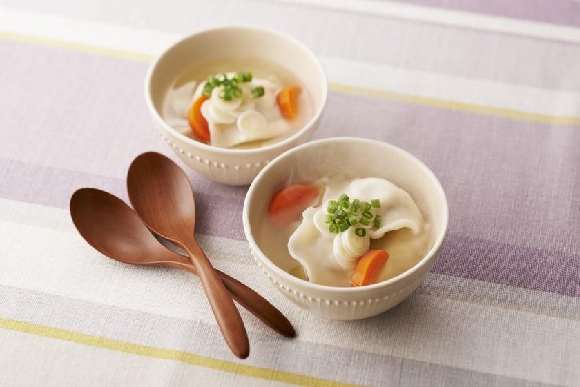 簡単!スープ水餃子