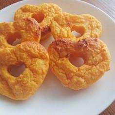 にんじんの焼きドーナツ