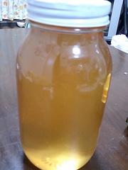梅酒の梅で、梅シロップの写真