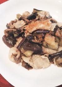 【夏バテ対策】茄子と豚バラの味噌炒め