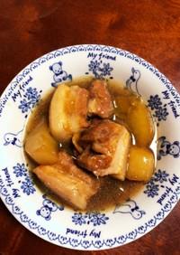 圧力鍋で豚バラと大根の角煮