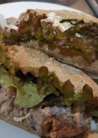【鯖缶で】鯖のサンドイッチ