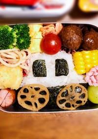 パトカー 幼稚園 お弁当 キャラ弁