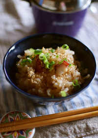 【電鍋レシピ】タコ飯
