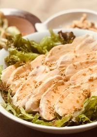 【鶏ハム油淋鶏】ホットクックと鶏むね肉で