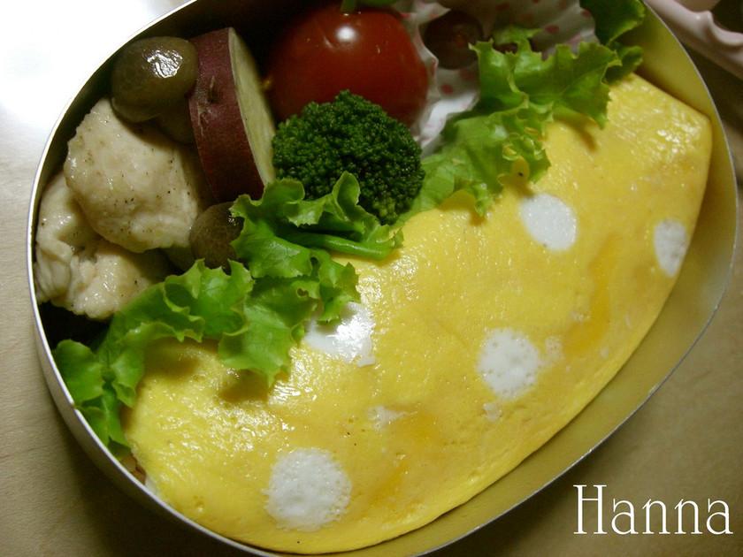 はんちゃん焼き(模様入り薄焼き卵:2)