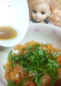 リカちゃん♡醤油出汁ドレッシング(たれ)