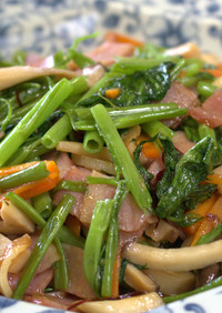 パパッ簡単!空心菜のにんにく炒め【動画】