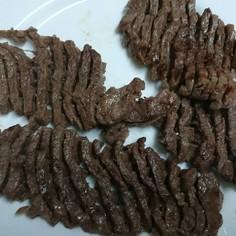 牛肉の切り方(ステーキ肉)