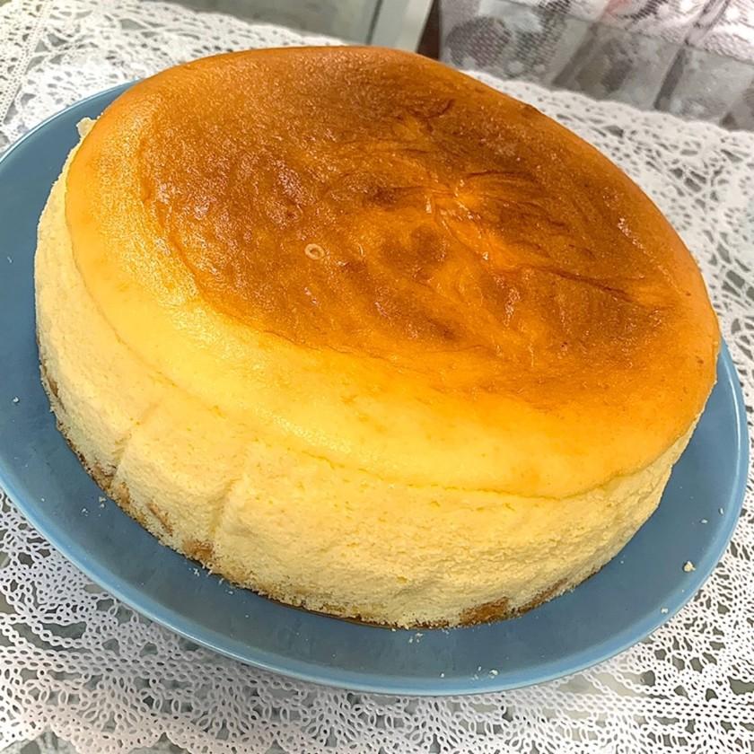簡単お店みたいなスフレチーズケーキ♥♥