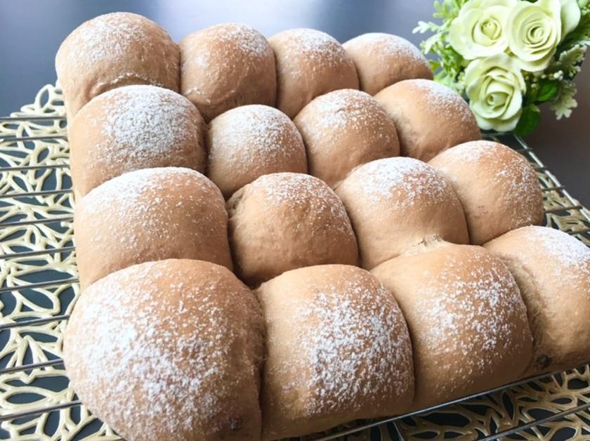 ダブルチョコレートのちぎりパン