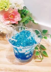 水ゼリー~かき氷style夏休みの宝石箱