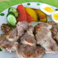 スペイン風豚肉のソテーadobado♪