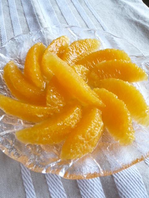 美的★オレンジのむき方