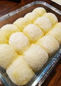 30分で!薄力粉だけで簡単ちぎりパン