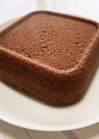 ココアおからパウダー蒸しパン