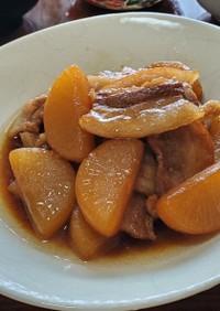 ご飯がすすむ✩豚バラと大根の甘辛煮