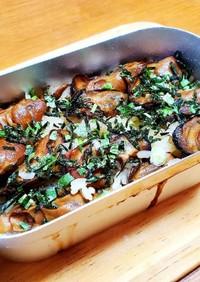 メスティンで牡蠣のオイル漬け炊き込みご飯