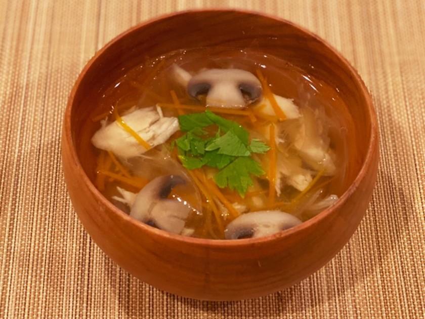 野菜たっぷりナンプラースープ[魚醤]
