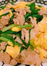 超簡単★ニラ豚卵のオイスター炒め