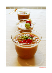飲むサラダ!ビタミンコオロギ♥ガスパチョ