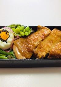 207、鶏の照り焼き親子丼⁈弁当♡
