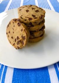 チョコレートチップアイスボックスクッキー