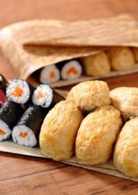 【昭和弁当】いなり寿司と海苔巻き弁当