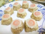 渦巻焼売(うずまきシュウマイ)お弁当に♪の写真