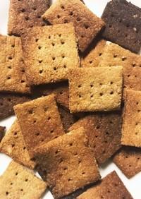 米ぬか100%のクッキー★油なしヘルシー