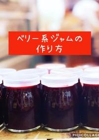 低糖質ジャム、プロレシピ(自家製ベリー)