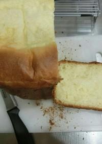 ホームベーカリーでブリオッシュ食パン