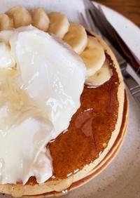 BPなしふわふわ米粉パンケーキ
