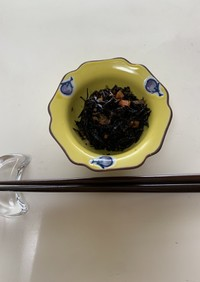 ひじきとツナ缶の煮物(パナ電気圧力鍋)
