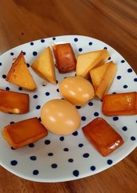 簡単❗燻製料理、初心者向けチーズ、玉子