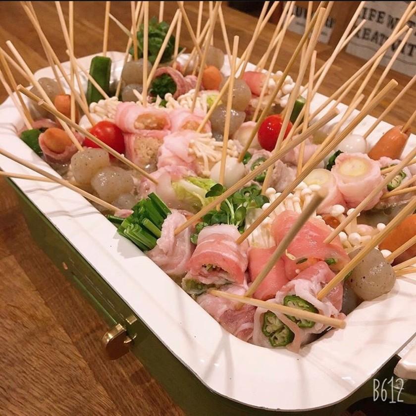 BRUNOで串鍋