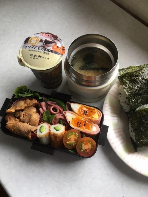 高校男子お弁当 1.7.25