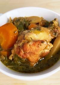 《圧力鍋》ごろっと野菜のスープカレー