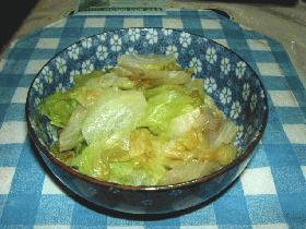 ゆでレタスのサラダ