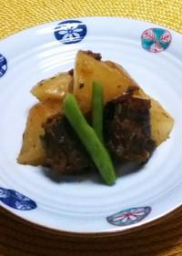 【フライパンで作る】鯖味噌と大根の煮物