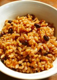 黒千石豆の発芽玄米酵素ご飯 もち麦入り