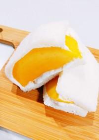 さっぱりフルーツサンド(今回はマンゴー)