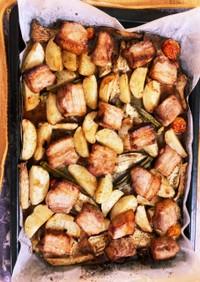 豚バラオーブン焼き