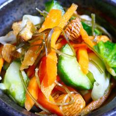 残り野菜で!箸が止まらないサラダ風浅漬け