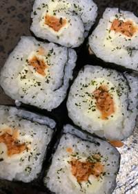 海苔巻きシリーズ!鮭チーズ青じそ風味巻き