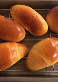 HBでロールパン作り(薄力粉入り)