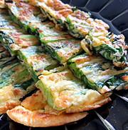 もちもち♪小松菜チヂミの写真