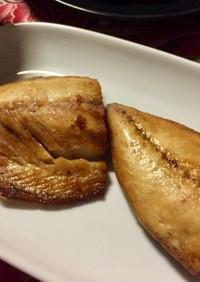 エアフライヤー 鯖の塩焼き